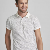 Polo manches courtes motif tropical mexx