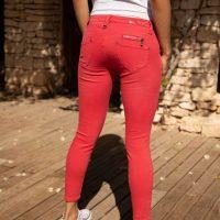 Pantalon rouge Freeman Porter