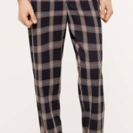 Pantalon Check Sisley