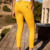 Pantalon jaune Freeman Porter