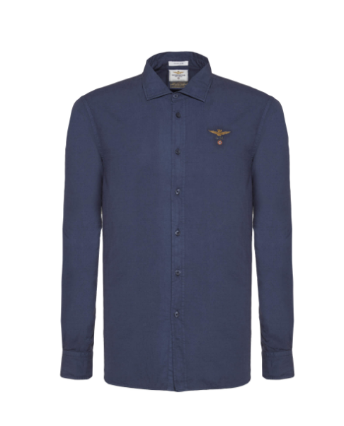 chemise-bleue-aeronautica-letlui-obernai