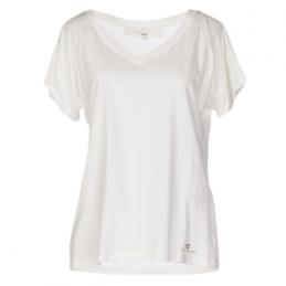 T shirt blanc uni Elisabetta Franchi