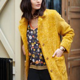 manteau-jaune-moutarde-concept-k-mode-avenue-obernai