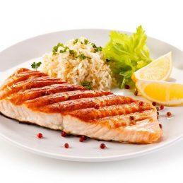 saumon-riz