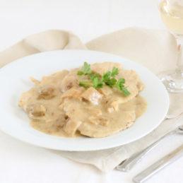 escalope-crème-champignons