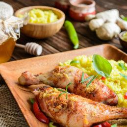 poulet-gingembre-riz