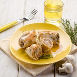 poulet-champignons