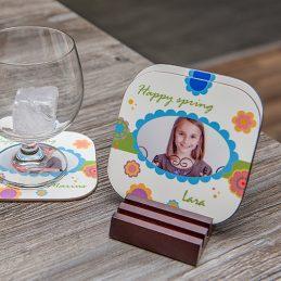 Dessous de verre personnalisable