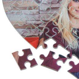 Puzzle cœur personnalisable