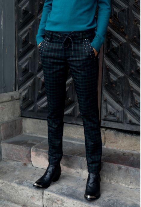 pantalon-vert-noir-freeman-porter