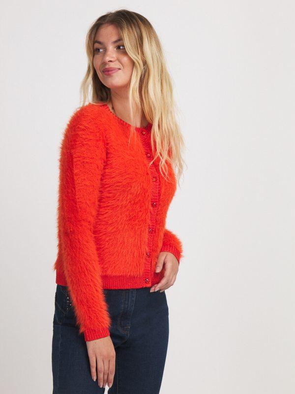 gilet-orange-julie-guerlande