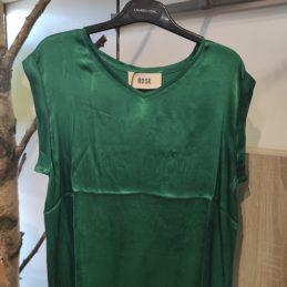 t-shirt-vert-émeraude-ROSE