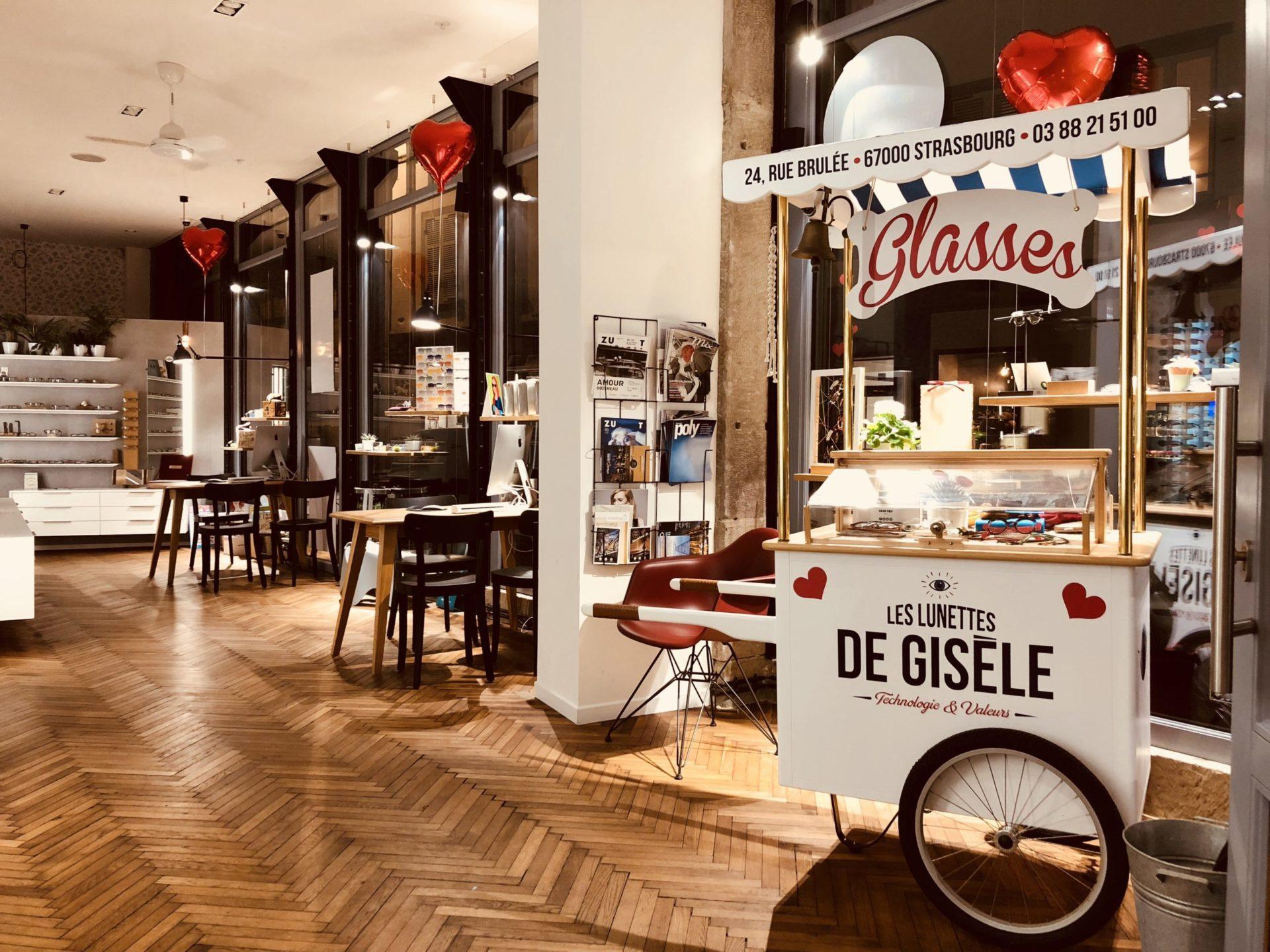 Boutique Les Lunettes de Gisèle