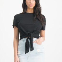 Tee-shirt noir Edie