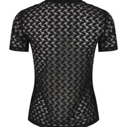 Top noir tricot Roselina Dos
